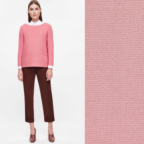 501c9707c127 COS Sweaters   Textured Cotton Aline Jumper Sweater   Poshmark